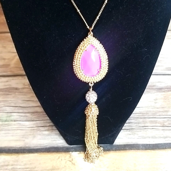 Lilly Pulitzer Goldtone Long Pendant